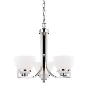 Darby Home Co Lenore 3-Light Semi Flush Mount