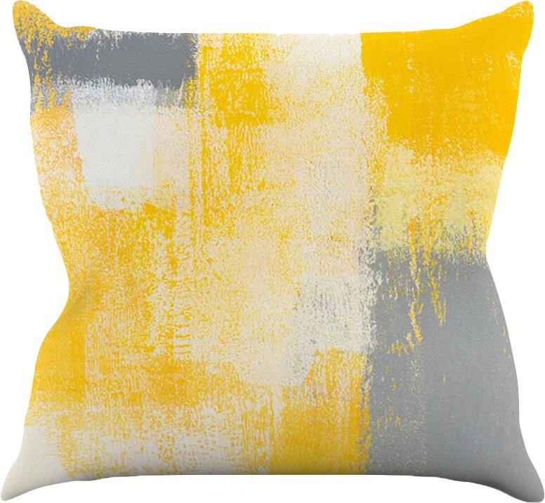 KESS InHouse Breakfast by CarolLynn Tice Throw Pillow