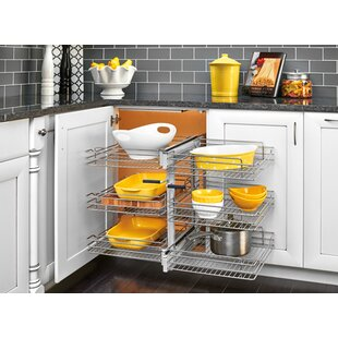 Rev-A-Shelf 153 Tier Soft Close Blind Corner Organizer