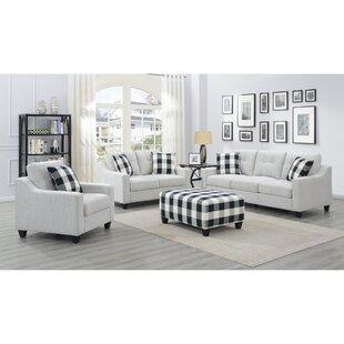 Borach 4 Piece Configurable Living Room Set by Red Barrel Studio