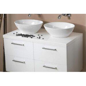 double vanity sink top. Aurora 37  Double Bathroom Vanity Top Tops You ll Love Wayfair