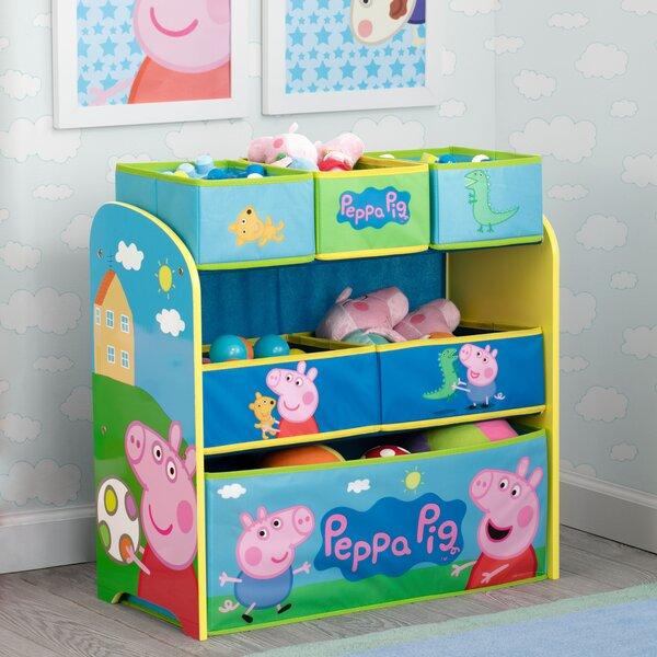 Delta Children Peppa Pig Multi Bin Toy Organizer Amp Reviews