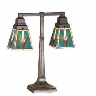 Valencia Mission 2 Arm 20 Table Lamp