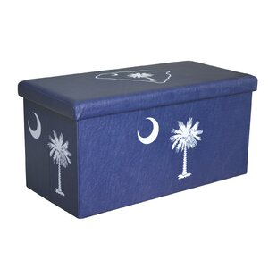 Palmetto Large Storage Ottoman by Seasons Designs