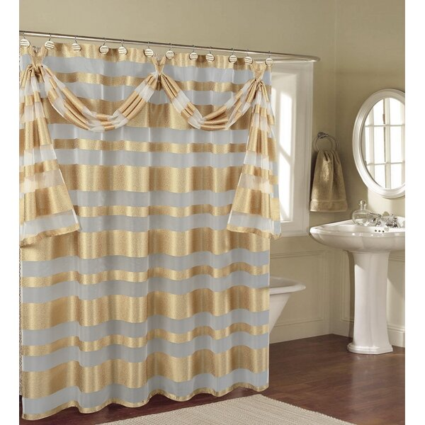 Decorative Shower Curtain  Wayfair