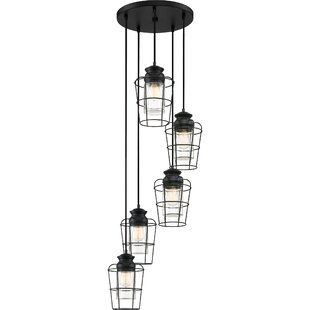 Clemens 5-Light Cluster Pendant by Williston Forge