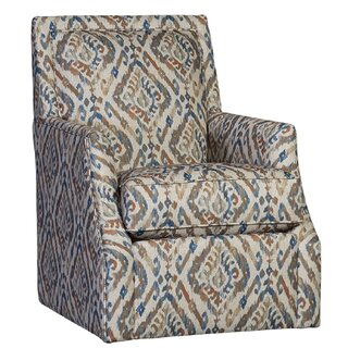 Weigel Swivel Armchair by Darby Home Co SKU:CD370227 Shop