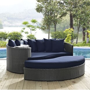 Brayden Studio Tripp Daybed with Cushions