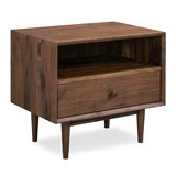 Newville 1 Drawer Nightstand by George Oliver