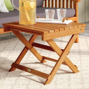 Cadsden Folding Side Table by Three Posts Savings