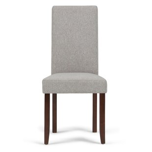 Simpli Home Acadian Upholstered Dining Chair (Set of 2)