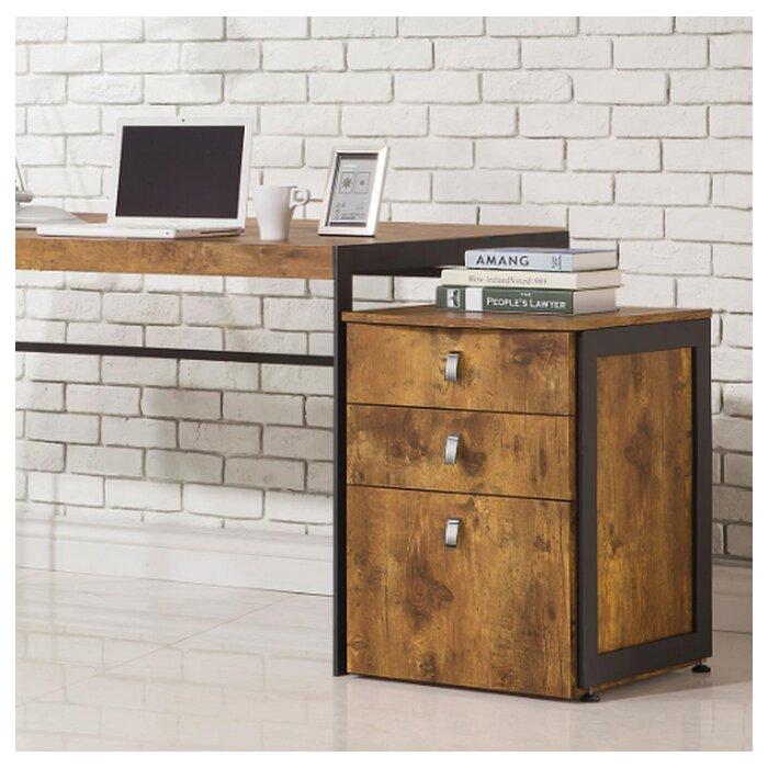 the best attitude 87b74 aa21f Darrel 3-Drawer Vertical Filing Cabinet