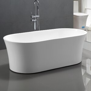 60 inch freestanding soaking tub. 63  x 29 5 Freestanding Soaking Bathtub Tubs