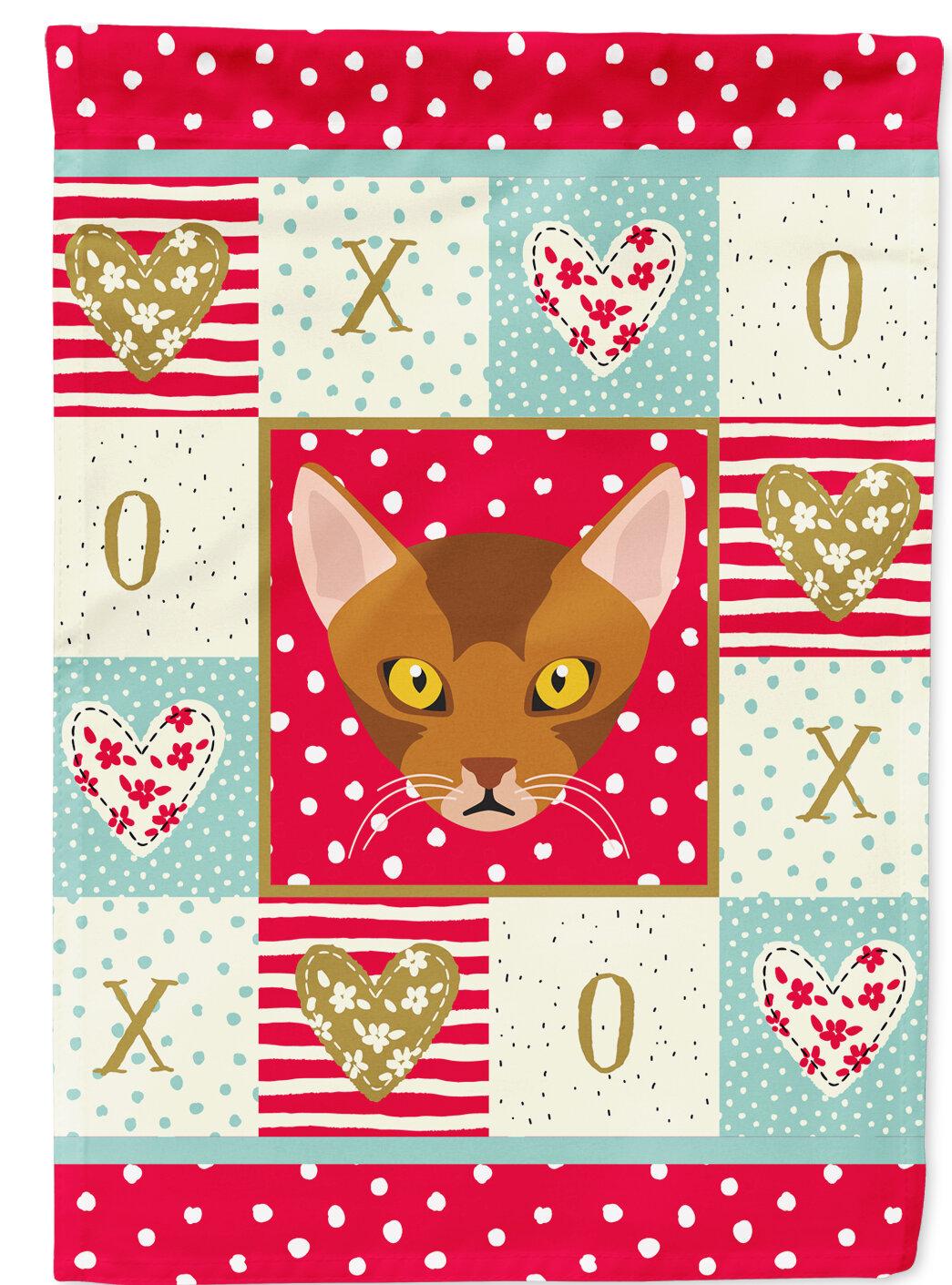 Caroline S Treasures York Cat 2 Sided Polyester 40 X 28 In House Flag Wayfair