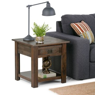 Laforce End Table with Storage by Millwood Pines