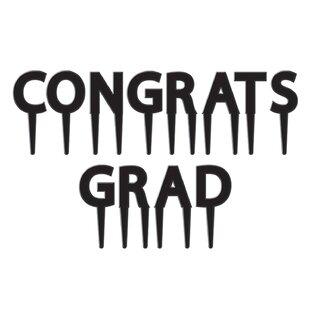 Graduation Congrats Grad Picks (Set of 12)
