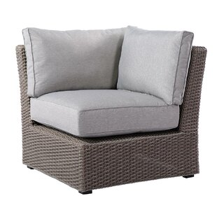Pleasant Avenue Corner Chair With Cushions by Rosecliff Heights Purchase