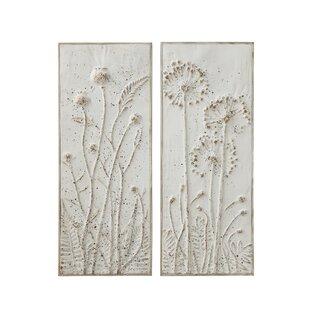 Metal Flower Wall Art Wayfair