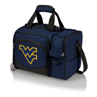 West Virginia Malibu Picnic Tote Set By Picnic Time