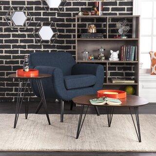 Alena 2 Piece Coffee Table Set by Wrought Studio SKU:ED173288 Buy