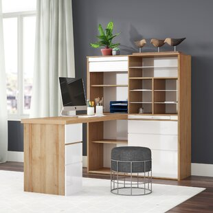 McConnell L-Shape Writing Desk By 17 Stories
