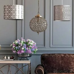 Lamp shades ceiling table lamp shades wayfair ceiling lamp shades aloadofball Image collections