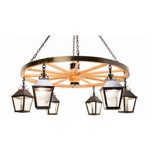 2nd Ave Design Silverton 6-Light Shaded Chandelier