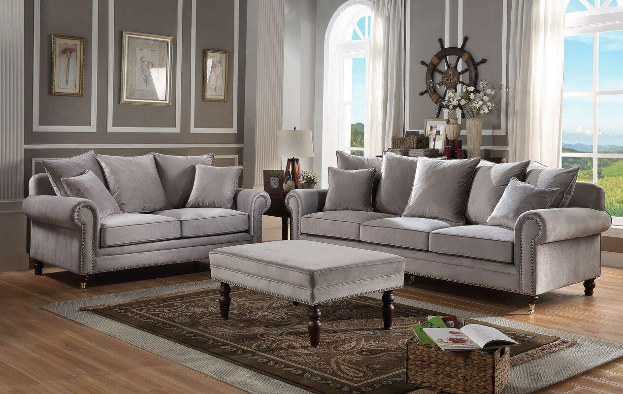 Perfect Hampton 3 Piece Sofa Set