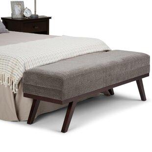 George Oliver Hansel Upholstered Bench