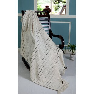 Weisner Grayscale Cotton Throw