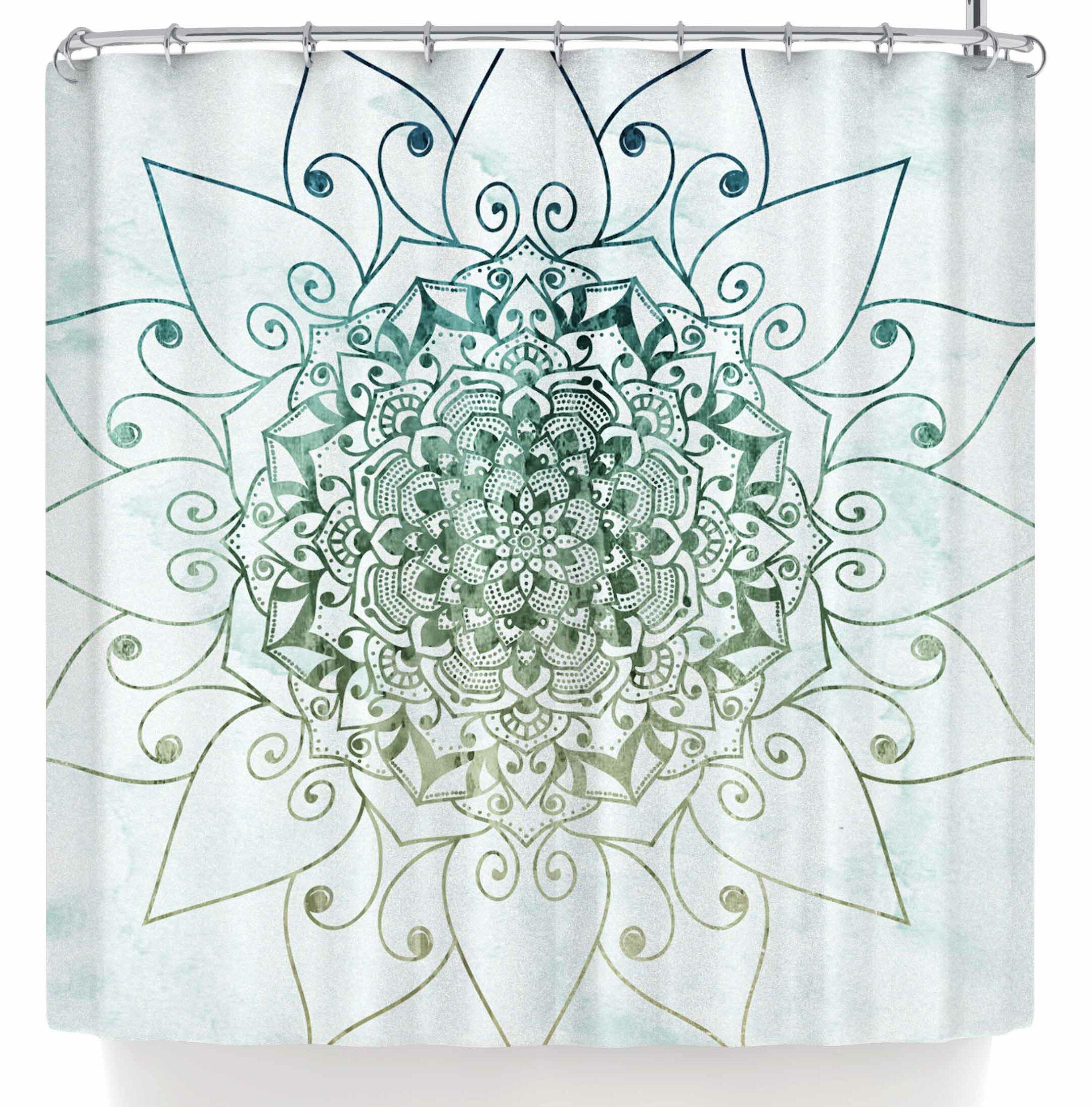 East Urban Home Nika Martinez Elegant Mandala Shower Curtain