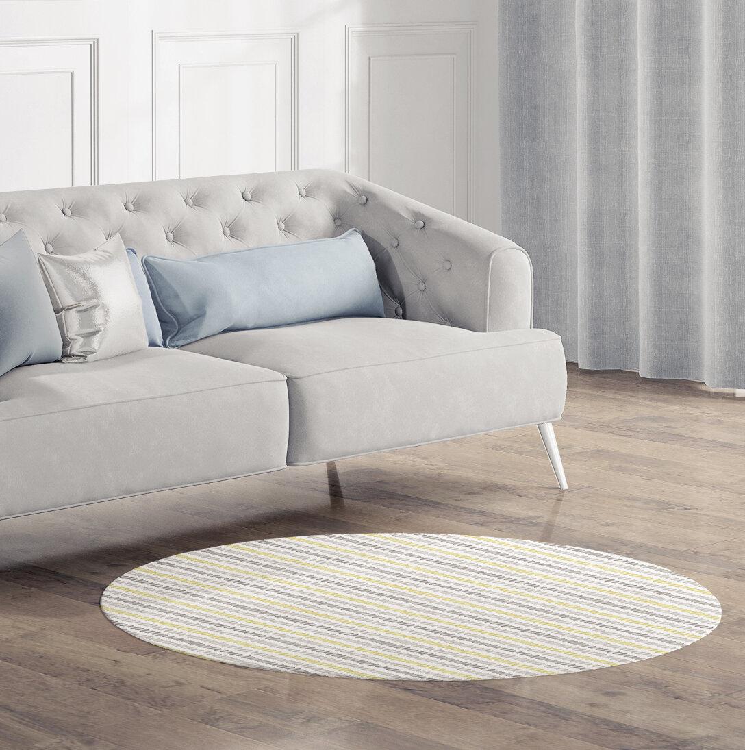Ebern Designs Vanderbilt Gray Area Rug Wayfair