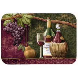 Wine Chateau Roma Kitchen/Bath Mat