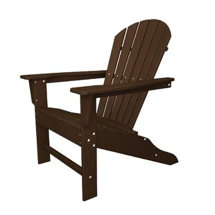 POLYWOOD® South Beach Plastic Adirondack Chair