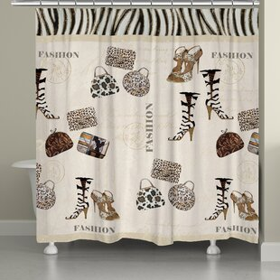Wild for Fashion Single Shower Curtain
