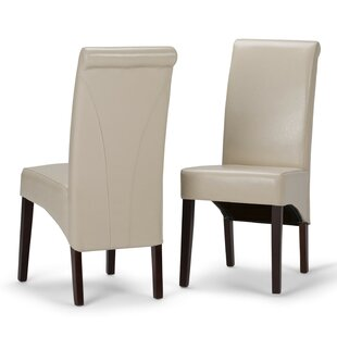 Alcott Hill Agnon Deluxe Upholstered Dining Chair (Set of 2)