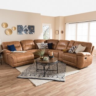 Shop Carnegie Reclining Sectional by Red Barrel Studio
