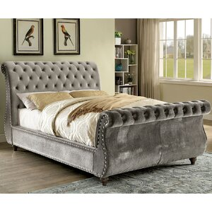 Noella Upholstered Sleigh Bed