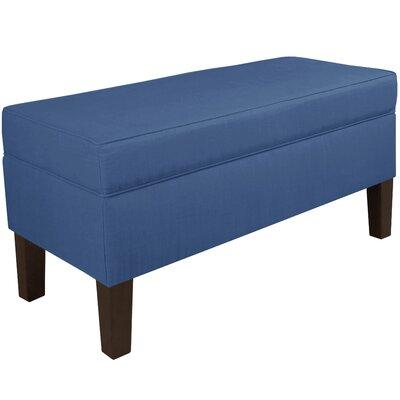 Enjoyable Upholstered Storage Bench Brayden Studio Color Blue Machost Co Dining Chair Design Ideas Machostcouk