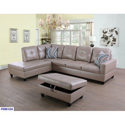 Awesome Russ Sectional With Ottoman Andover Mills Orientation Right Alphanode Cool Chair Designs And Ideas Alphanodeonline