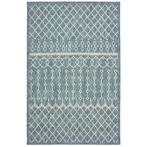 Dilip Blue Indoor/Outdoor Area Rug