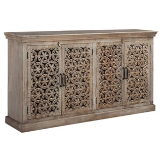 Appalachia 4 Door Accent Cabinet by Bungalow Rose SKU:AB418619 Order