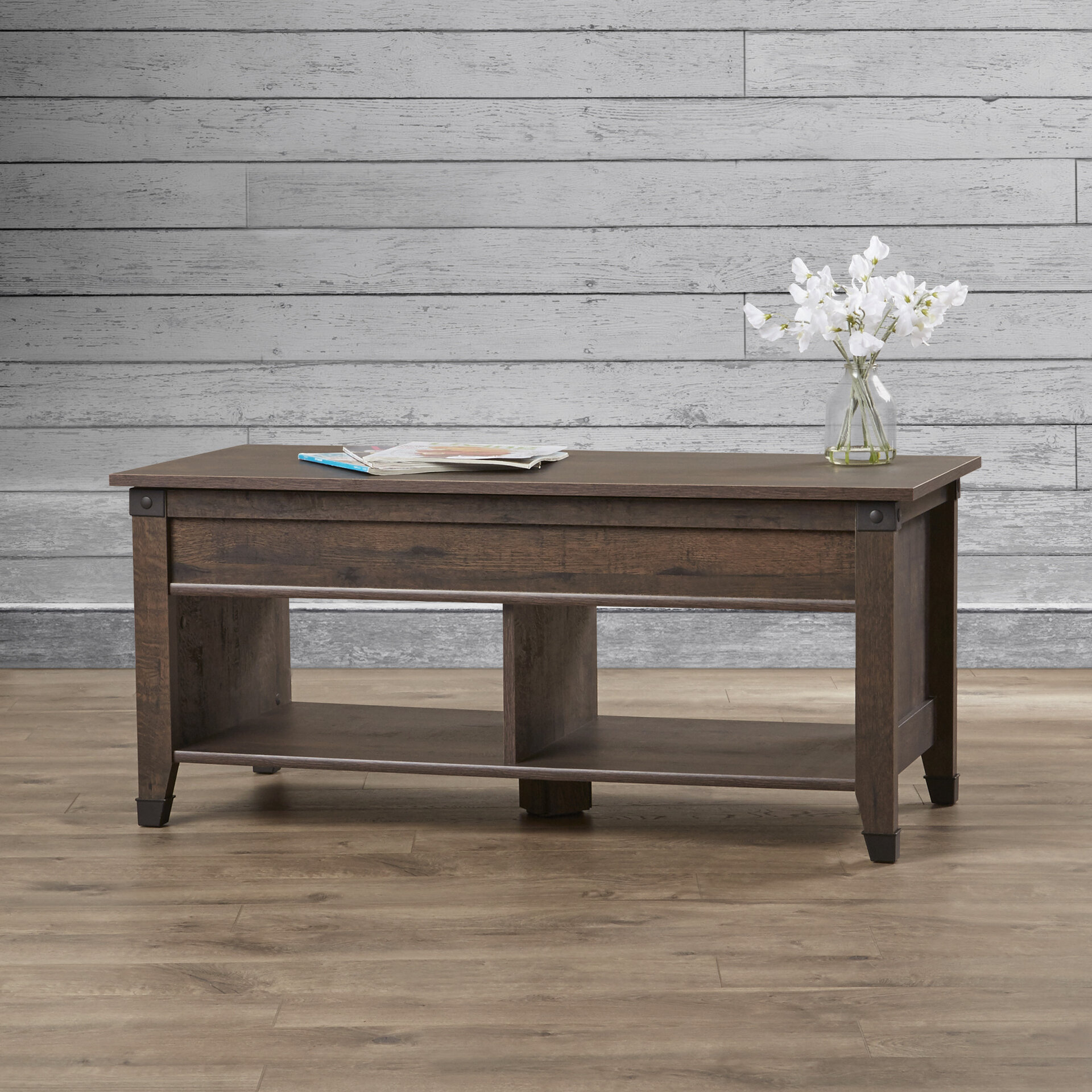 Lift Top Coffee Table.Chantrell Lift Top Coffee Table