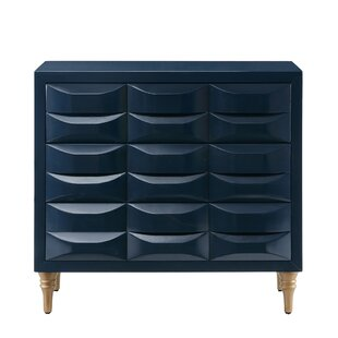 Hadassah 3 Drawer Accent Chest