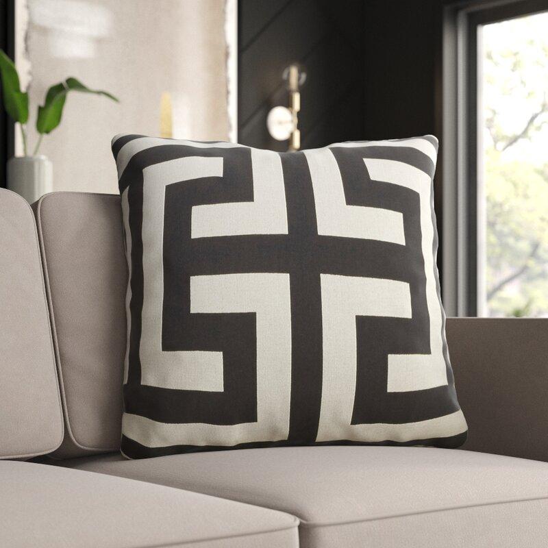 Mercury Row Modern Throw Pillow