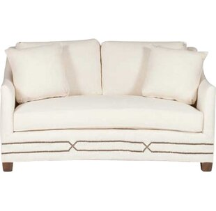 Gabby Baldwin Curved Loveseat