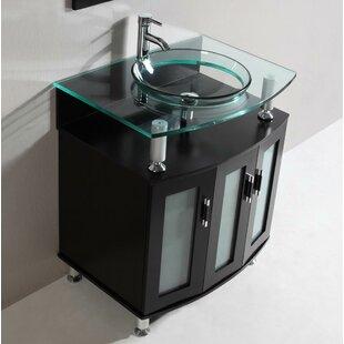 Online Reviews Modern 30 Single Bathroom Vanity Set ByBelvedere Bath
