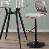 Thornton Swivel Adjustable Height Swivel Bar Stool by Wade Logan®