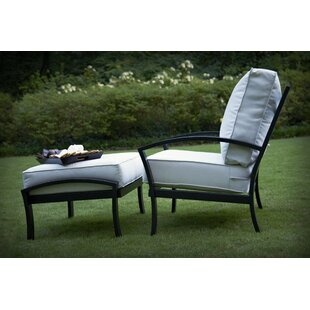 Maddux Deep Seating Chair and Ottoman with Cushion