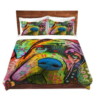 Superior Bull Mastiff I Dog Duvet Set